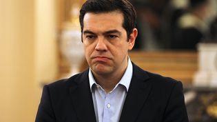 Le Premier ministre grec Alexis Tsipras, à Athènes (Grèce), le 18 juillet 2015. (AYHAN MEHMET / ANADOLU AGENCY)