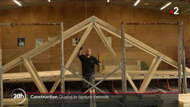 Travaux : le secteur du bâtiment subit la flambée des prix des matériaux de construction