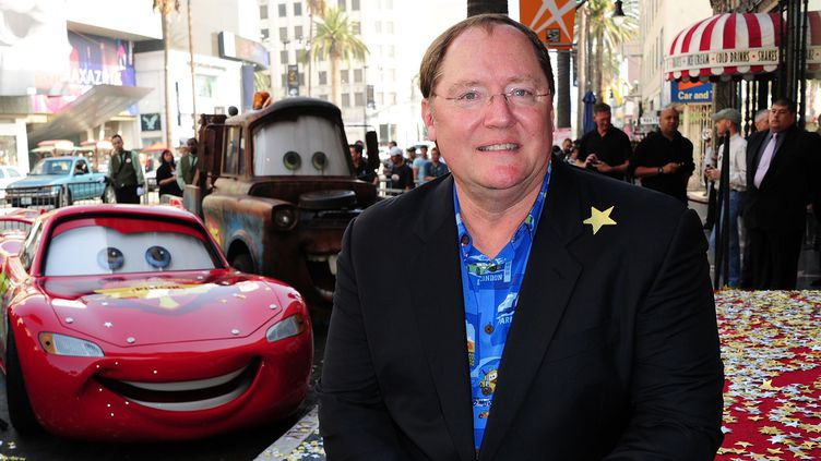 John Lasseter, ancien patron de l'animation chez Disney, quitte ses fonctions après des accusations de harcèlement.  (Robyn BECK / AFP)