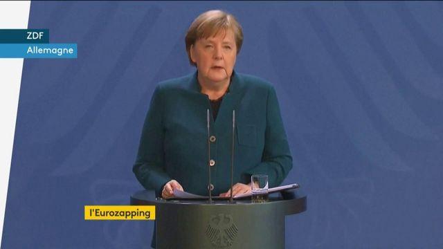 Coronavirus : la Grèce se confine ; Angela Merkel va bien
