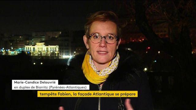 Tempête Fabien : la façade atlantique se prépare