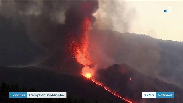 Volcan aux Canaries : l'éruption s'intensifie
