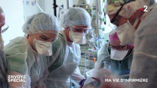 Envoyé spécial. Ma vie d'infirmière (ENVOYÉ SPÉCIAL  / FRANCE 2)