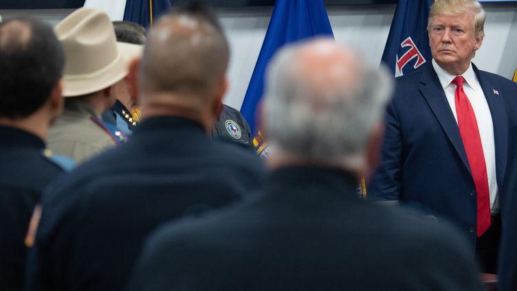 Le président Donald Trump, à El Paso au Texas, le 7 août 2019. (SAUL LOEB / AFP)