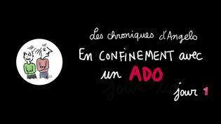 """""""Les chroniques d'Angelo"""" Jour 1 (Laurence Houot / franceinfo Culture)"""