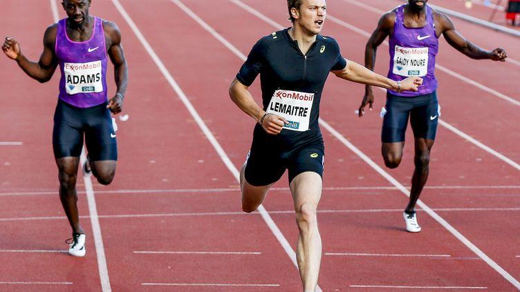 Christophe Lemaitre remporte le 200m à Oslo (RUUD, VIDAR / NTB SCANPIX)