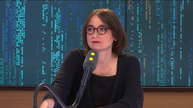 L'avocate Marie Dosé invitée de franceinfo samedi 1er juin 2019. (FRANCEINFO / RADIOFRANCE)