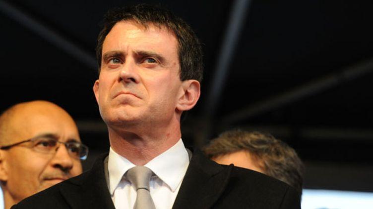 (Manuel Valls pointe la faiblesse de la gauche © Radio France / Nathanael Charbonnier)