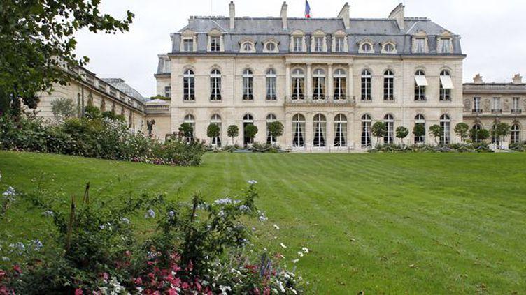Les jardins de l'Elysée, en septembre 2012  (T.Samson / AFP)