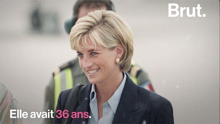"""VIDEO. Surnommée la """"princesse du peuple"""", on vous raconte l'histoire de Lady Diana (BRUT)"""