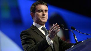 Le Premier ministre, Manuel Valls, le 27 novembre 2014, à Paris. (STEPHANE DE SAKUTIN / AFP)