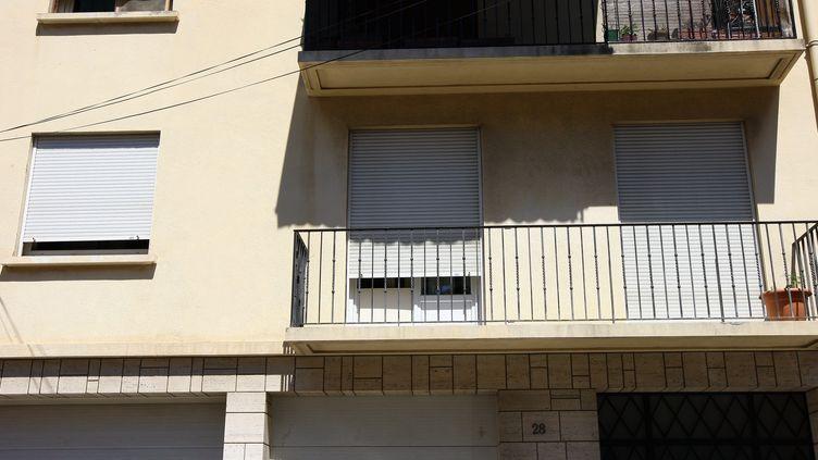 Le domicile d'Allison et Marie-Josée Benitez, les deux disparues de Perpignan (Pyrénées-Orientales), le 1er août 2013. ( MAXPPP)