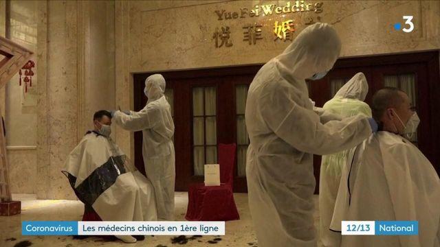 Covid-19 : les médecins chinois en première ligne
