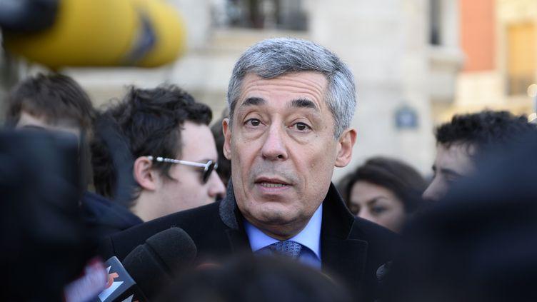 Le député UMP des Yvelines Henri Guaino le 2 février 2014 à Paris. (ERIC FEFERBERG / AFP)