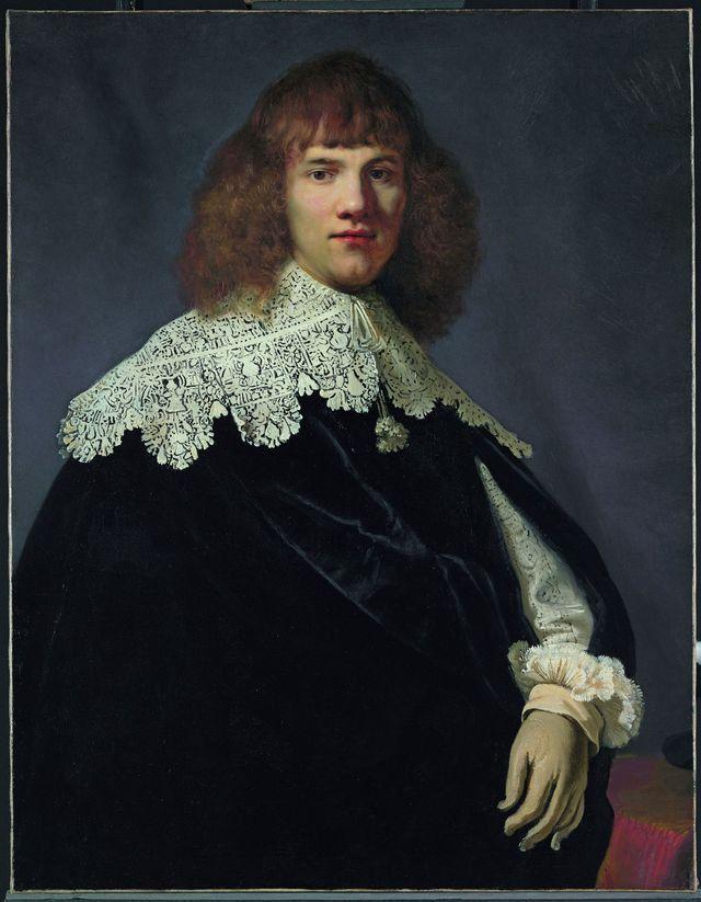 """""""Portrait d'un jeune homme"""", de Rembrandt (CAMELEON_ARTY / SIPA)"""