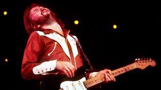 """Le dieu de la guitare Eric Clapton dans le documentaire """"Life in 12 Bars"""" de Lili Fini Zanuck.  (Orsans Distribution)"""