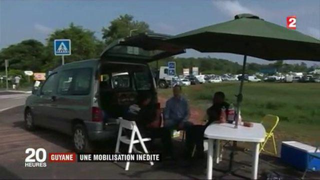 Guyane : une mobilisation inédite