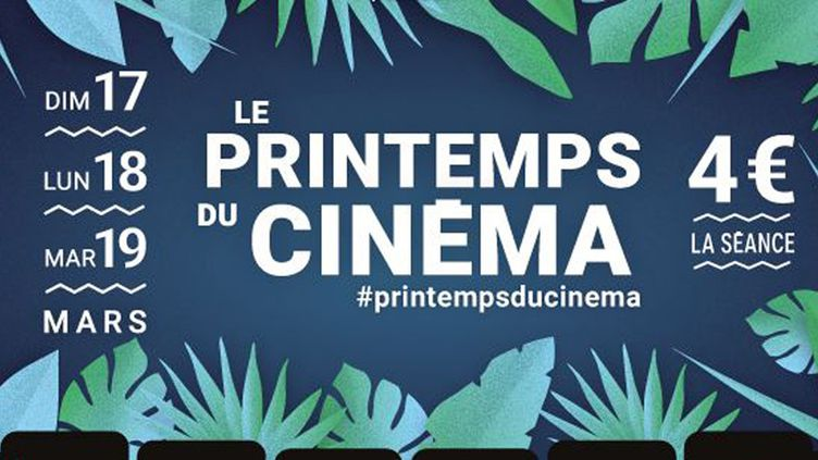 L'affiche du 20e Printemps du Cinéma (2019).  (FNCF)