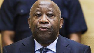 L'ancien président ivoirien Laurent Gbagbo devant la Cour pénale internationale, le 19 février 2013 à La Haye (Pays-Bas). (MICHAEL KOOREN / REUTERS)