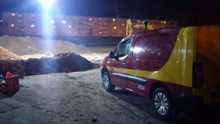 Une bombe a été découverte jeudi 8 décembre à Mantes-la-Jolie (Yvelines). (Préfecture du 78)