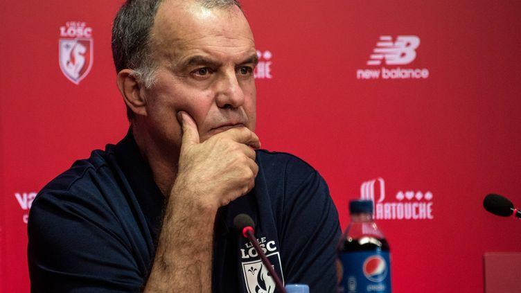 L'entraîneur du LOSC, Marcelo Bielsa
