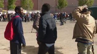 migrants vintimille (FRANCE 2)
