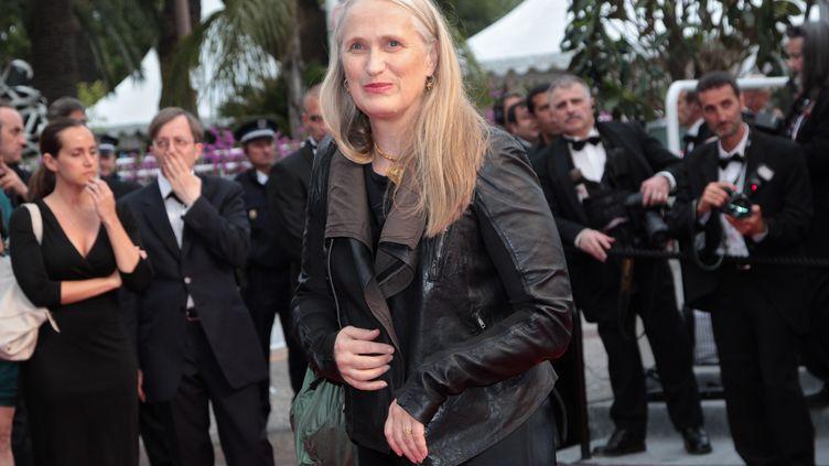 """Jane Campion, ici à Cannes en 2011, est la seule femme a avoir gagné une Palme d'or pour """"La leçon de piano"""". (EKATERINA CHESNOKOVA / RIA NOVOSTI / )"""