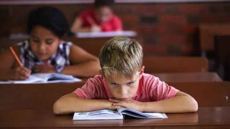 Les compétences en lecture des petits écoliers français ont baissé. (Image d'illustration) (PEOPLEIMAGES / DIGITAL VISION / GETTY IMAGES)