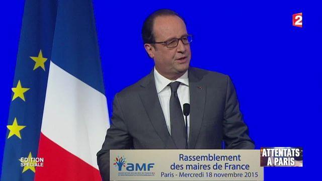 Attentats de Paris : François Hollande annonce l'armement des polices municipales