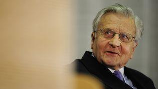 Le président de la BCE, Jean-Claude Trichet, le 24 octobre 2011 à Berlin. (JOHN MACDOUGALL /AFP PHOTO)