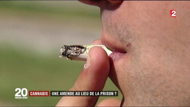 Cannabis : une amende au lieu de la prison