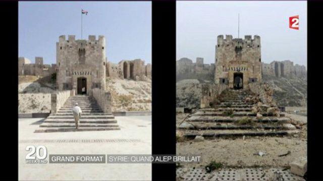 Alep : que reste-t-il de la ville autrefois florissante de la Syrie après quatre de guerre ?