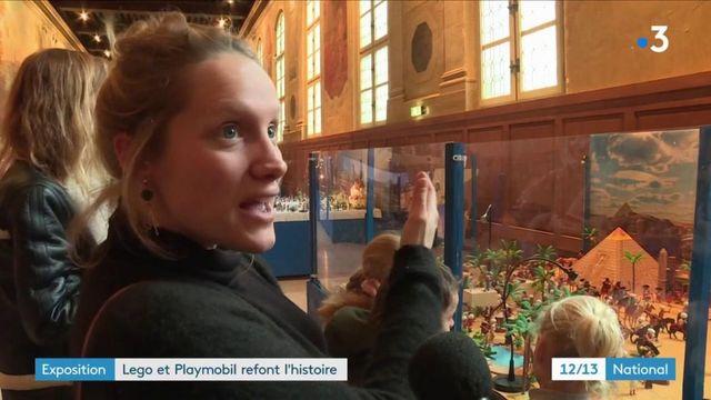 Expositions : quand les Playmobil et les Lego refont l'Histoire