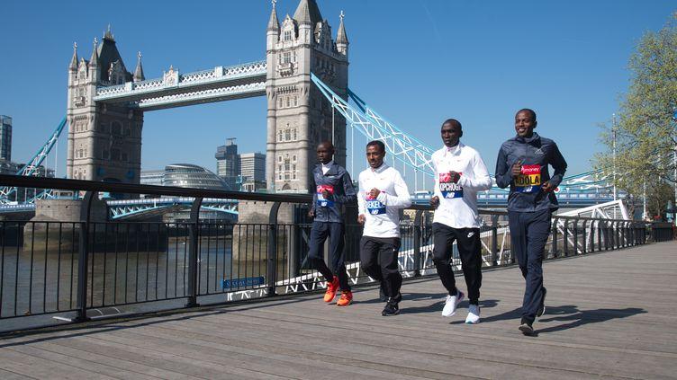 Les favoris pour le marathon londonien  (SEE LI / CROWDSPARK)