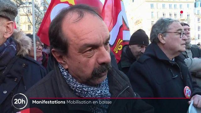 Grève du 16 janvier : une mobilisation en baisse