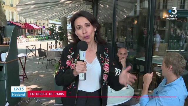 Déconfinement : les terrasses parisiennes affichent complet