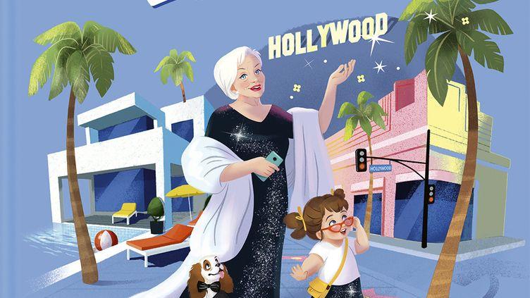 """""""Les aventures de Super Linette, à Hollywood"""", de L. Renaud et D. Lelait-Helo, illustré par Lelapain (Les Livres du Dragon d'or)"""