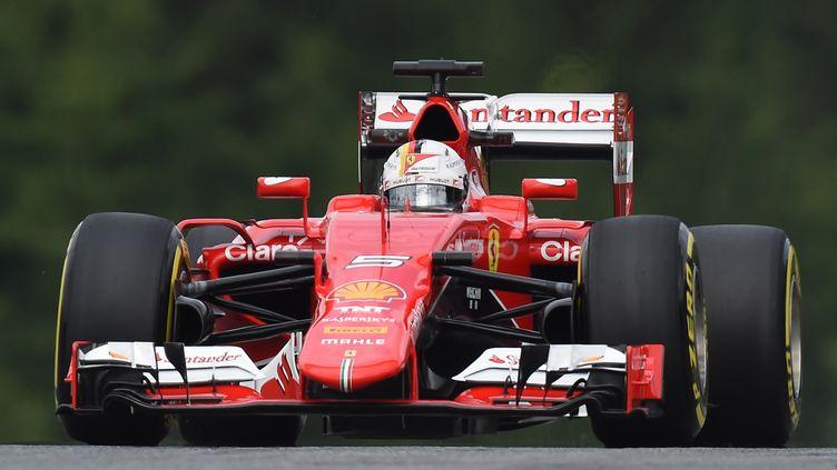 Sebastian Vettel (JOE KLAMAR / AFP)