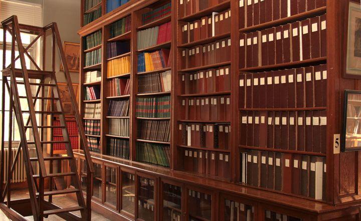 La bibliothèque de l'Enva comporte plus de 30 000 références. (BRUNO ALLOUCHE)