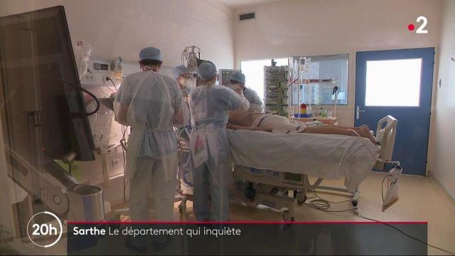 Covid-19 : la Sarthe, un département qui inquiète