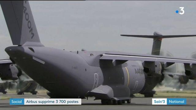 Airbus supprime 3 700 postes en Europe