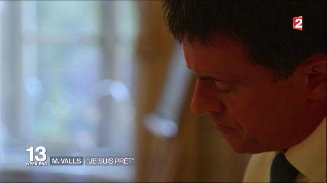 """Manuel Valls : """"Je suis prêt"""""""