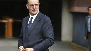Le Premier ministre Jean Castex arrive au tribunal de Bobigny (Seine-Saint-Denis), le 8 juillet 2020. (MARTIN BUREAU / AFP)