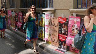 Béatrice Fumet : marathon dans les rues d'Avignon  (Laurence Houot / Culturebox)