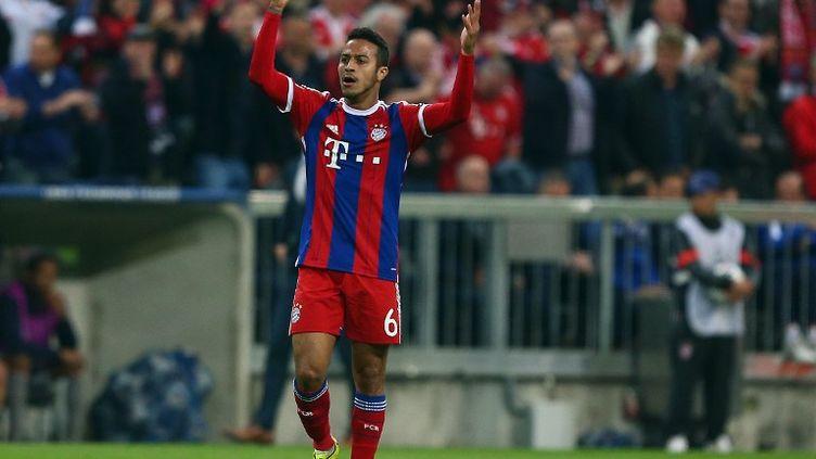 Thiago Alcantara, le milieu de terrain et maître à jouer du Bayern Munich. (KIERAN MCMANUS / BACKPAGE IMAGES LTD)