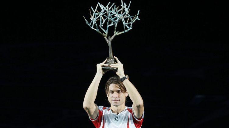 David Ferrer, vainqueur de Paris-Bercy