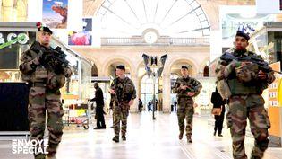 Soldats de l'opérationSentinelle (FRANCE 2 / FRANCETV INFO)