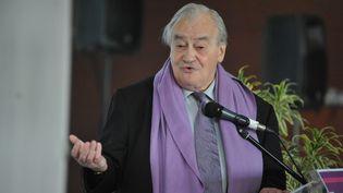 Figure du Parti communiste français, maire d'Aubervilliers de 1984 à 2003, Jack Ralite, ici en 2011, est décédé en 2017. (MAXPPP)