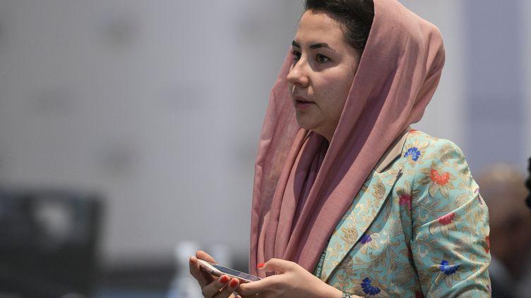 Samira Asghari rejoint le CIO (JUAN MABROMATA / AFP)