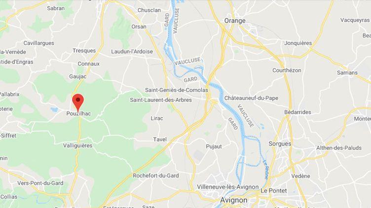 Pouzilhac (Gard). (GOOGLE MAPS)